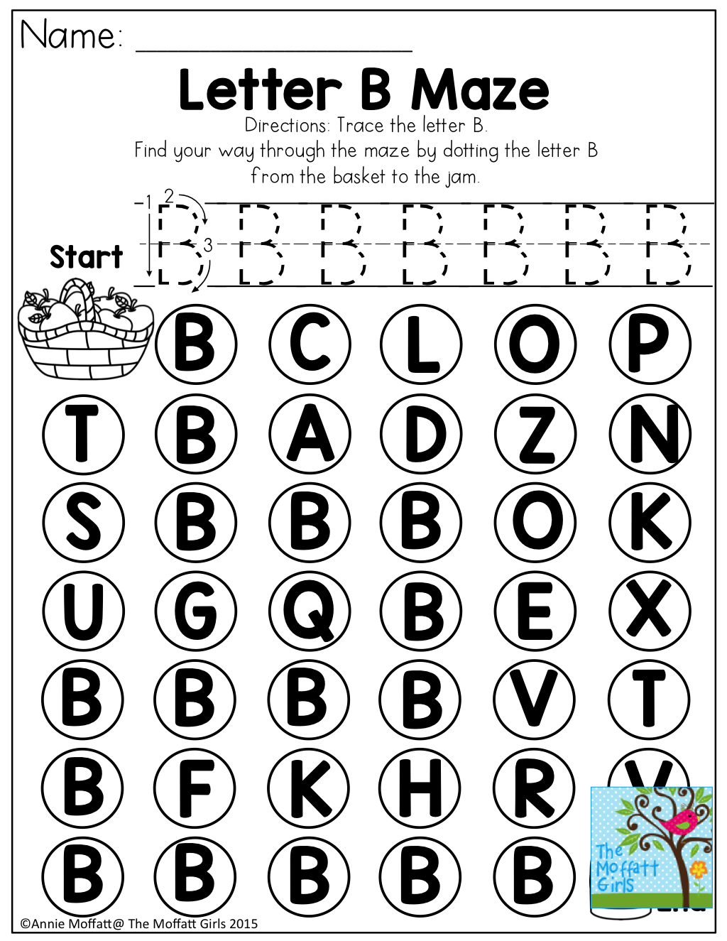 Letter Maze And Tons Of Other Fun Printables