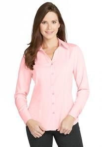 Seamed Button Front Shirt - Cato Fashion