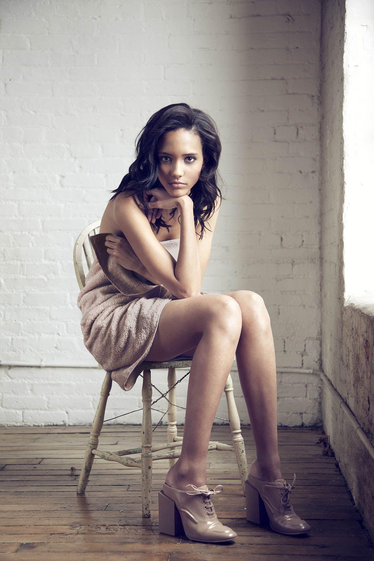 crystal-black-babes: Cora Emmanuel - Skinny Black Beauty
