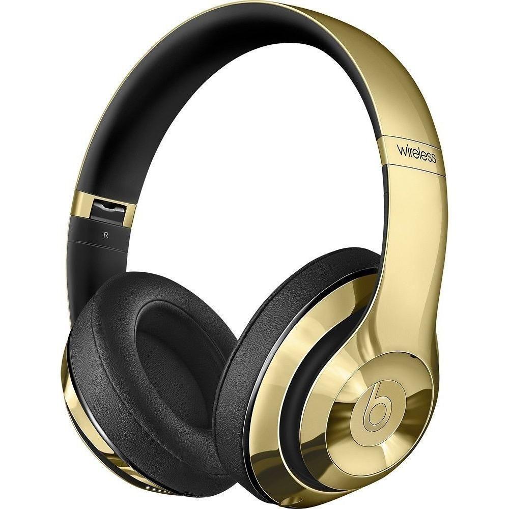 6ab8c26cacd Gold Chrome Beats Studio | Jamon birthday gifts | Beats studio ...