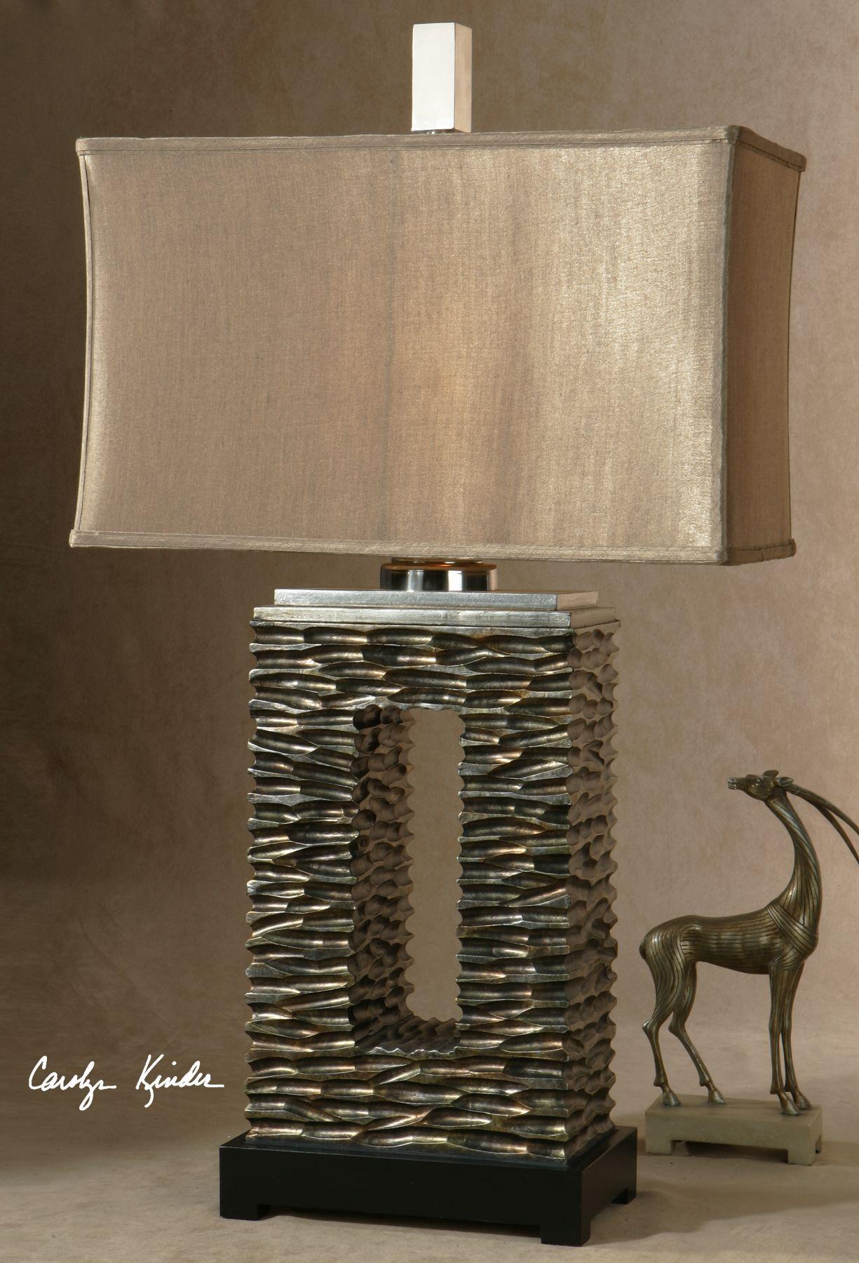 Uttermost Tarin Aged Bronze Table Lamp 27765-1