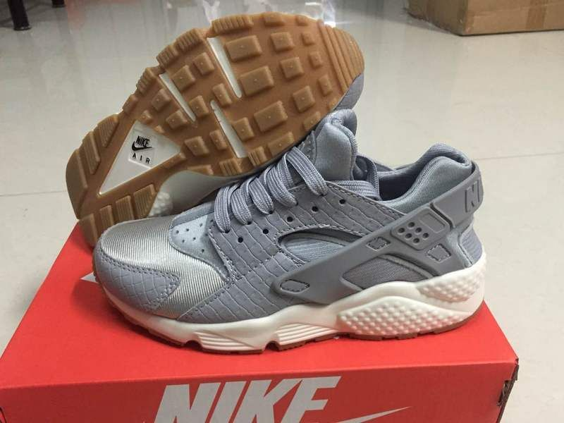 1bd3c8568a98 2018 Factory Authentic New Arrival Uk New Nike Air Huarache Size 36-46  Leaden Grey Youth Big Boys Shoes