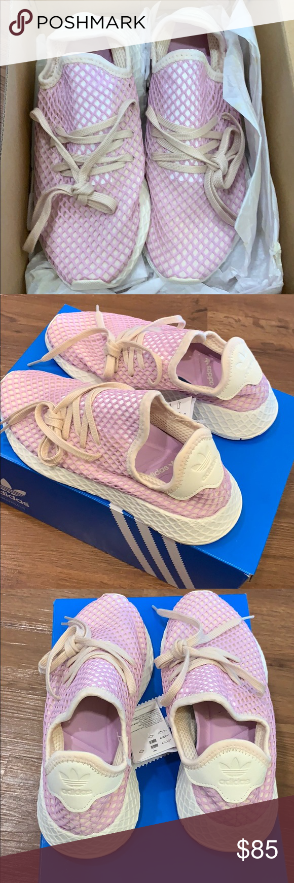 8dae0f2c5 Adidas Deerupt women s running shoes brand new still in box size 6 adidas  Shoes