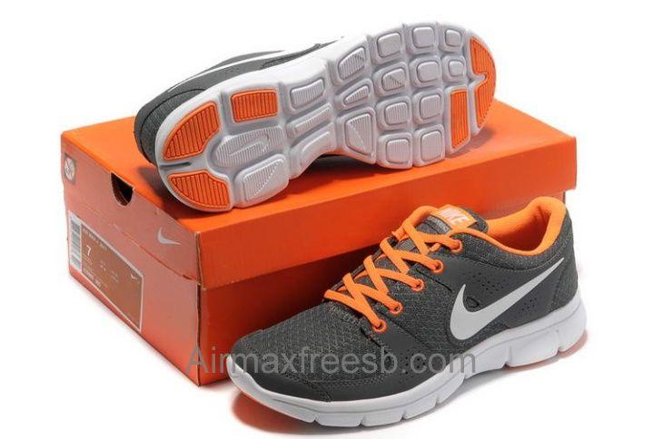 4c1b17a73853 Buy Grey Orange Nike Free Run 2013 Men Running Shoes 1 Top Fashion ...