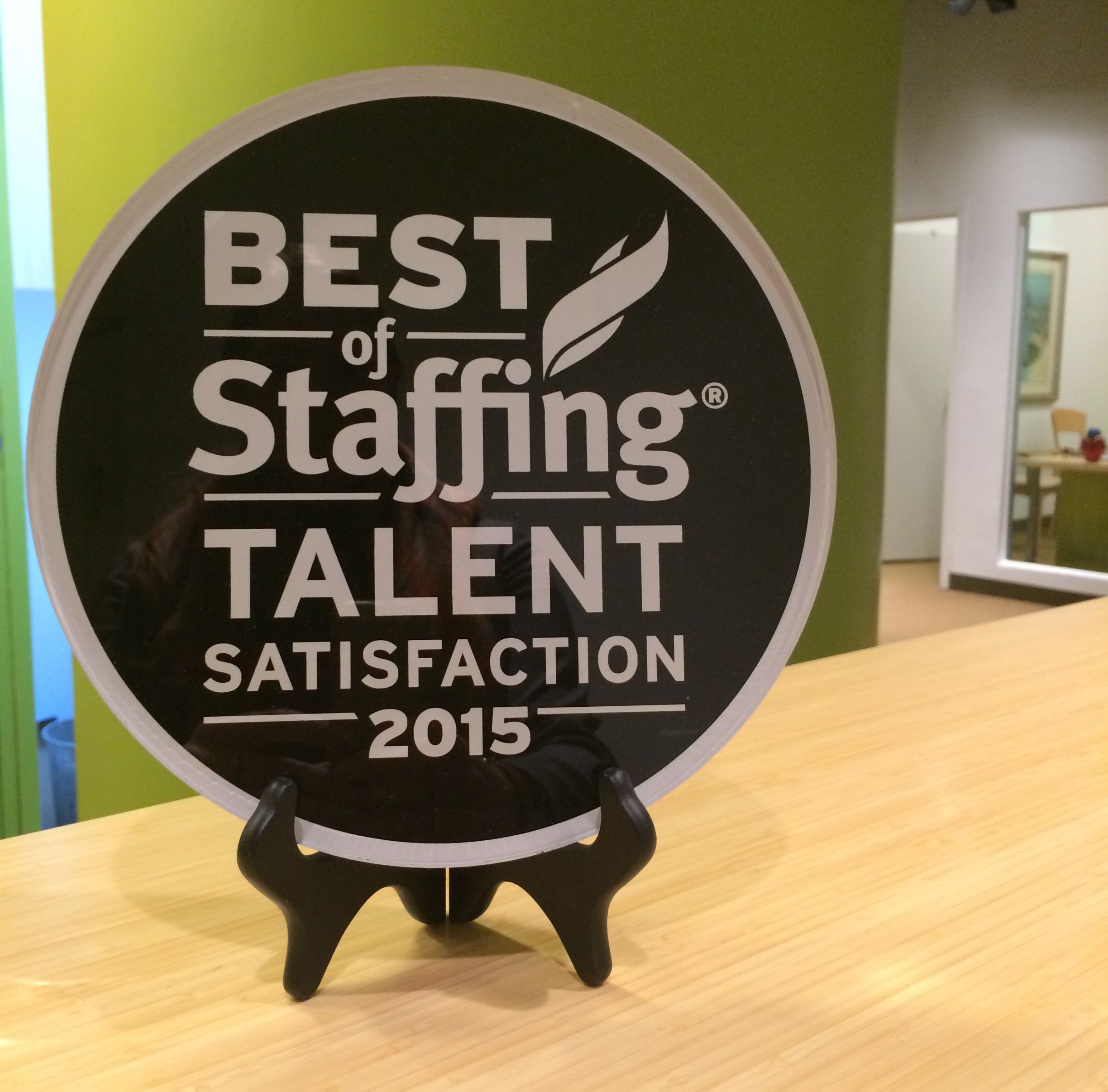 It's a major award! Staffing agency, Executive education
