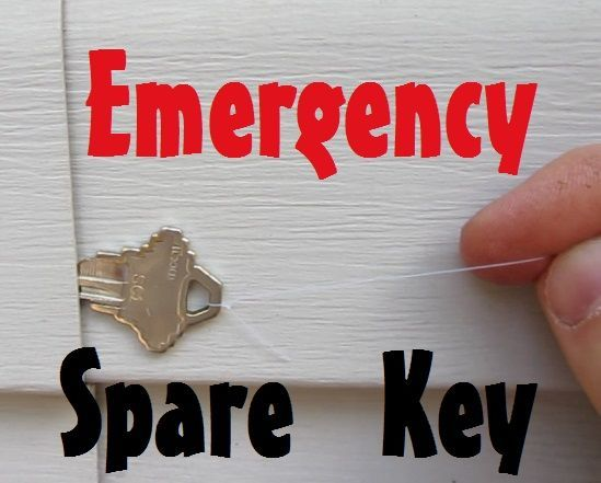 10 Places To Hide A Spare Key Keys Places And Key