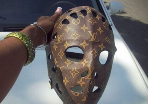 Louis Vuitton Hockey Mask Louis Vuitton Hockey Mask Just