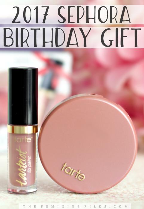 Tartecosmetics Free Sephora Birthday Gift 2017