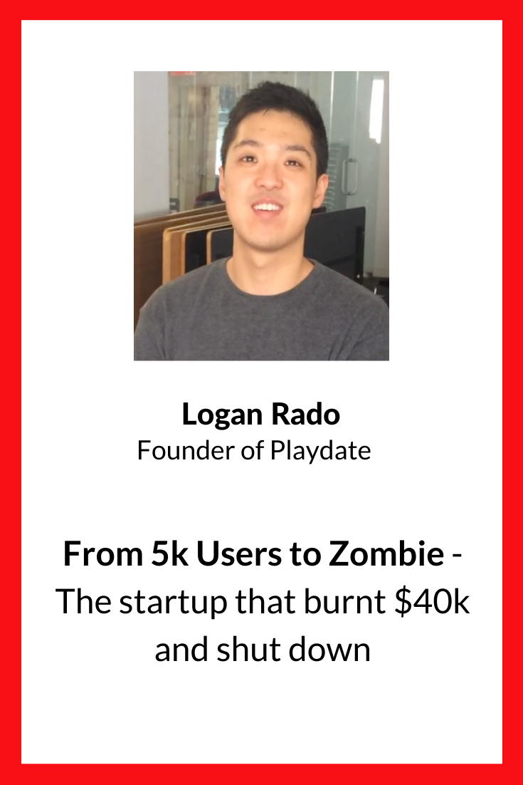 Logan was the CEO and CTO of Playdate, an ondemand social
