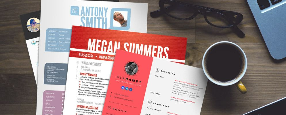 15 Free Creative Resume Templates for Photoshop and Illustrator - free creative resume templates