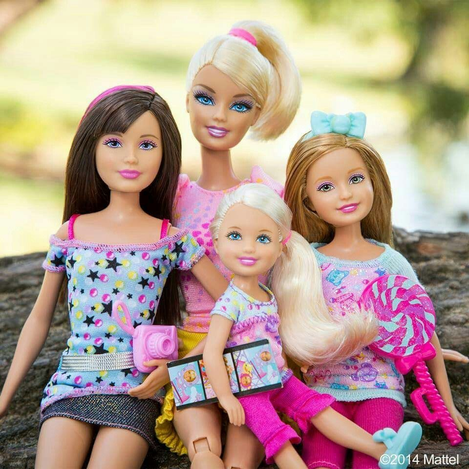 Real Life Barbie Family