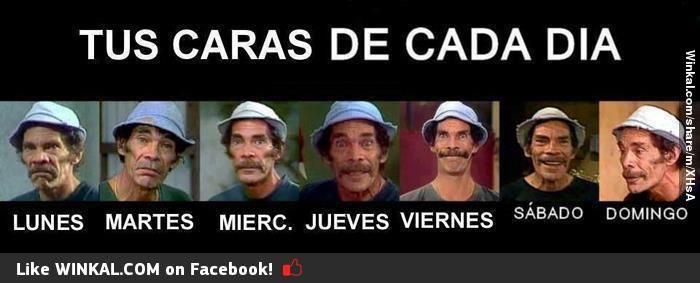 Dias De La Semana Funny Baby Memes Memes Funny Memes