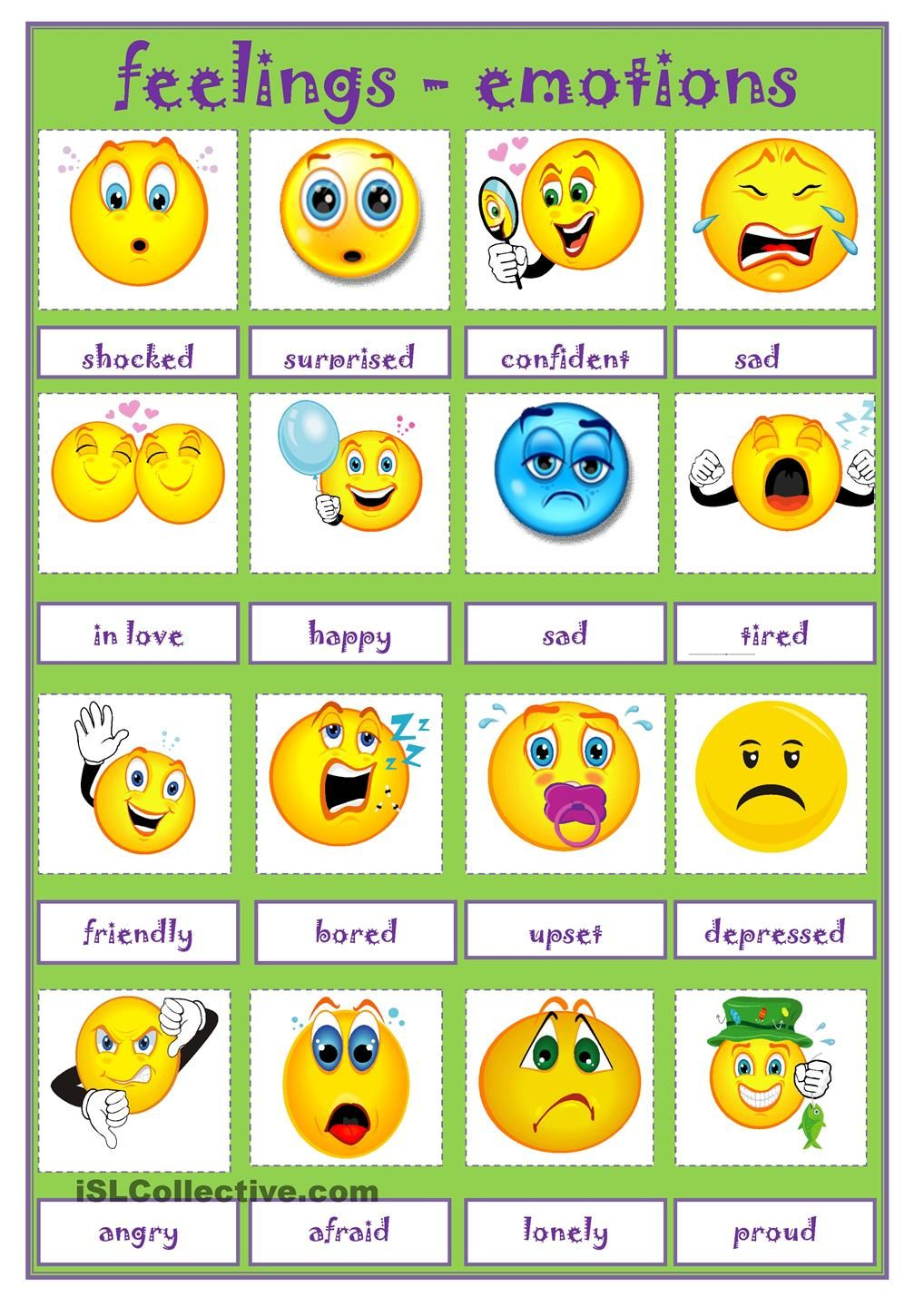 Self Expression Educational Learning Autism Toys Feeling Emotions Chart For Kids With 5 Faces