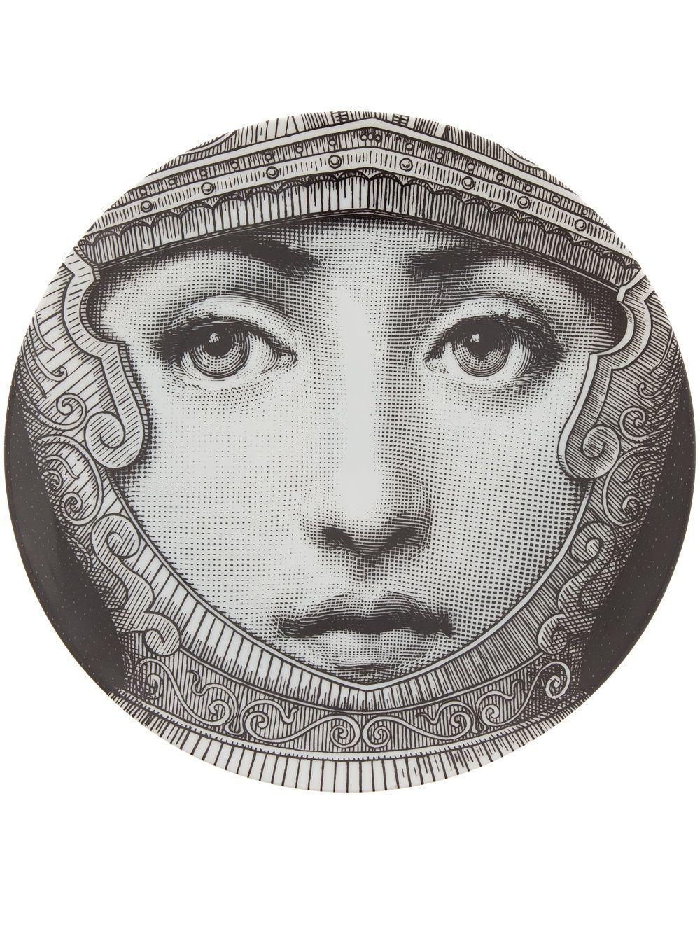 Fornasetti Art Prints Fornasetti Plate Roman Helmet Piero Fornasetti And Ceramic Design