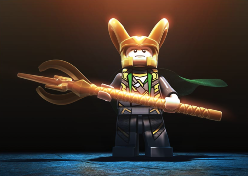 Loki from Lego Marvel Superheroes
