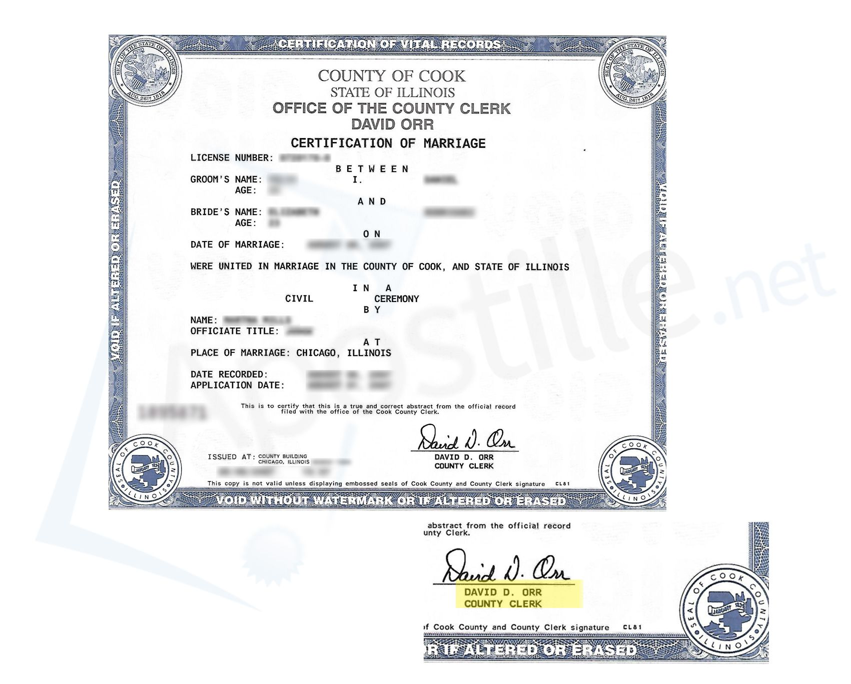 County of cook state of illinois marriage license signed by david county of cook state of illinois marriage license signed by david d orr aiddatafo Gallery
