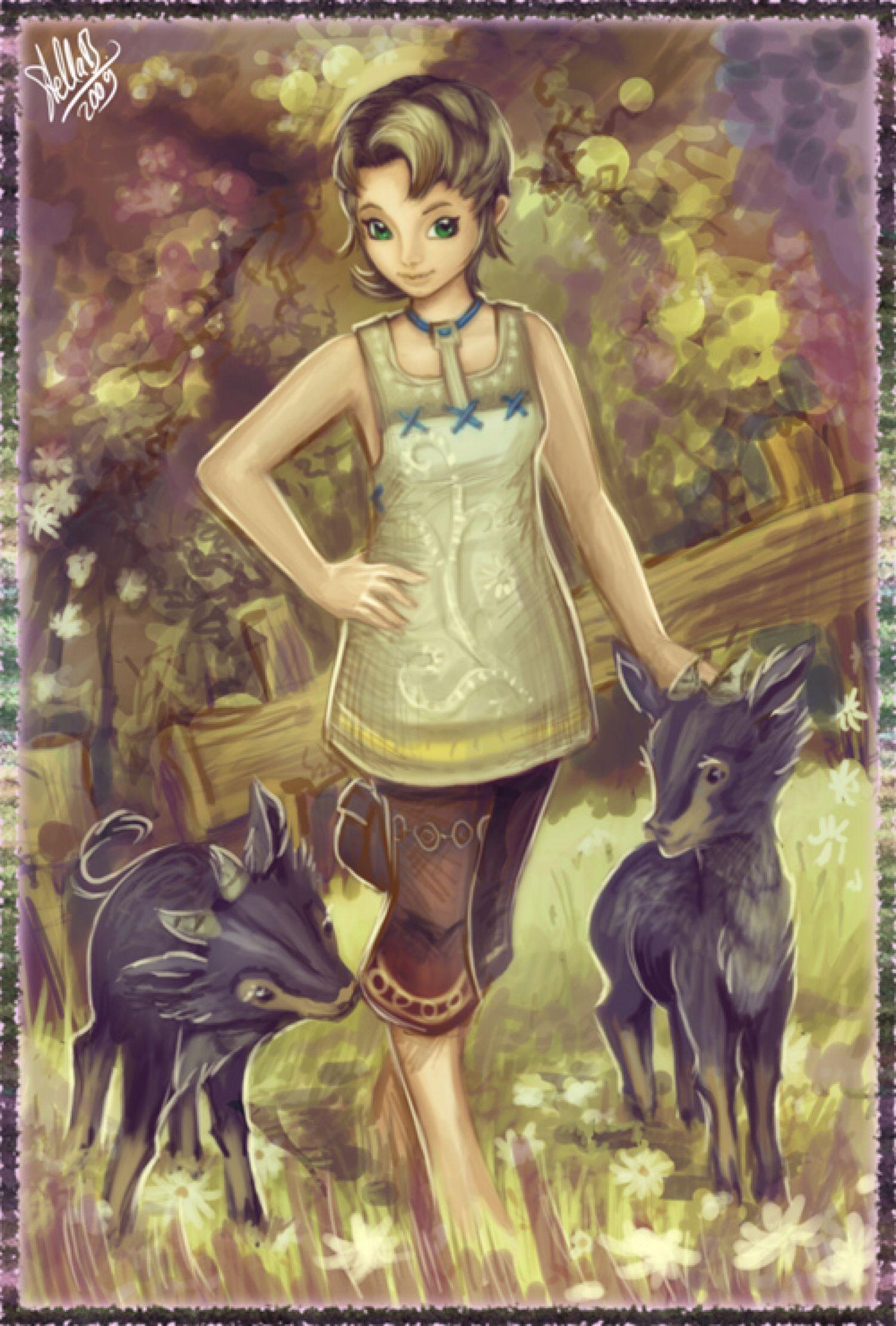 Ilia from Legend of Zelda: Twilight Princess by Sushi
