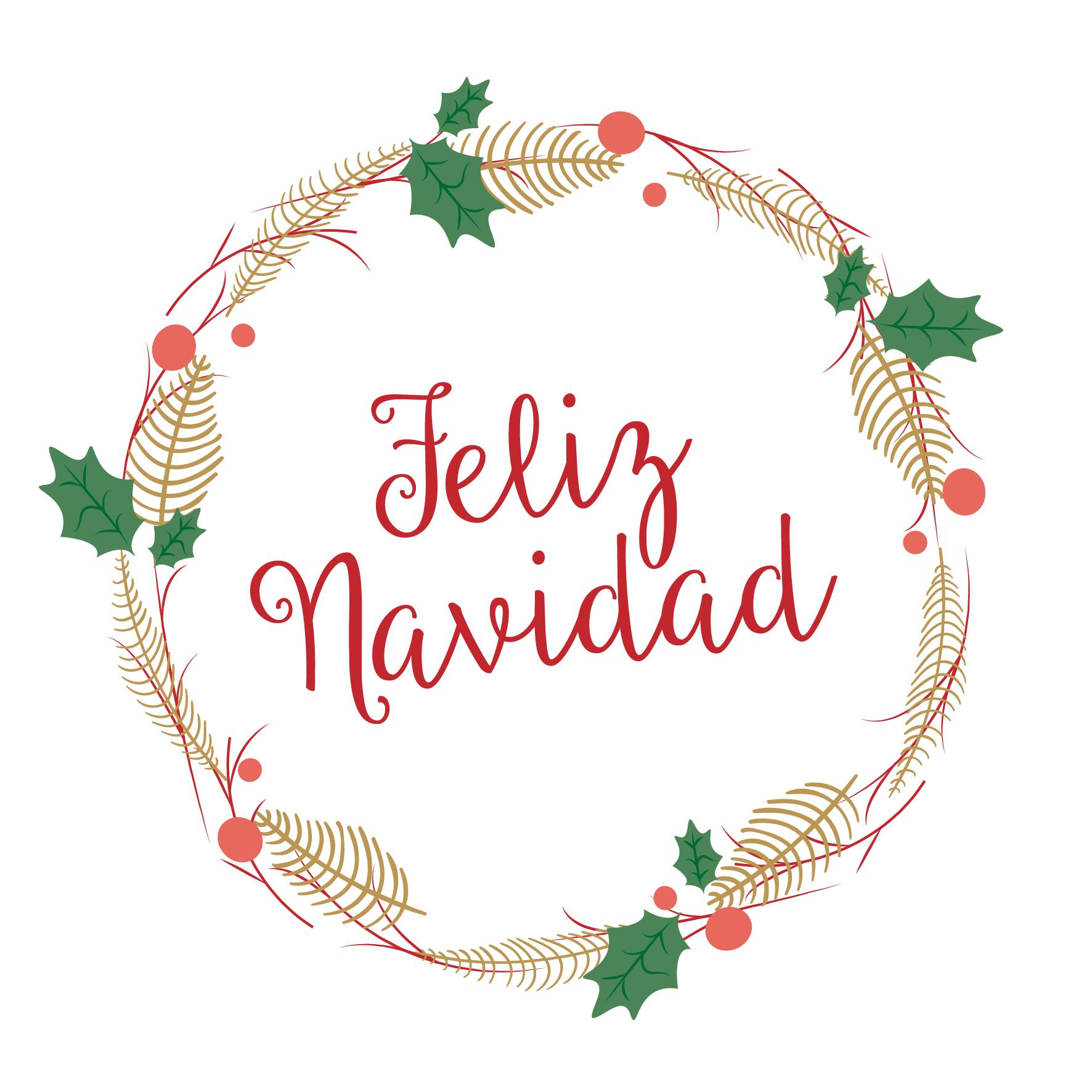 Feliz Navidad Marianela Delgado Merry Christmas Cards Merry