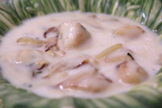 Sopa rústica de batata