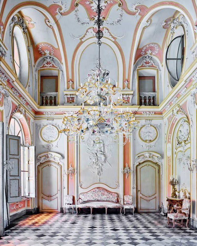 Les somptueux intérieurs de palaces italiens par David Burdeny #beautifularchitecture