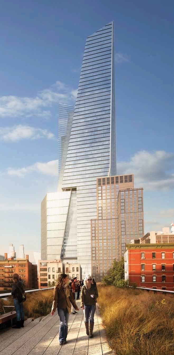 New modern architecture for Manhattan