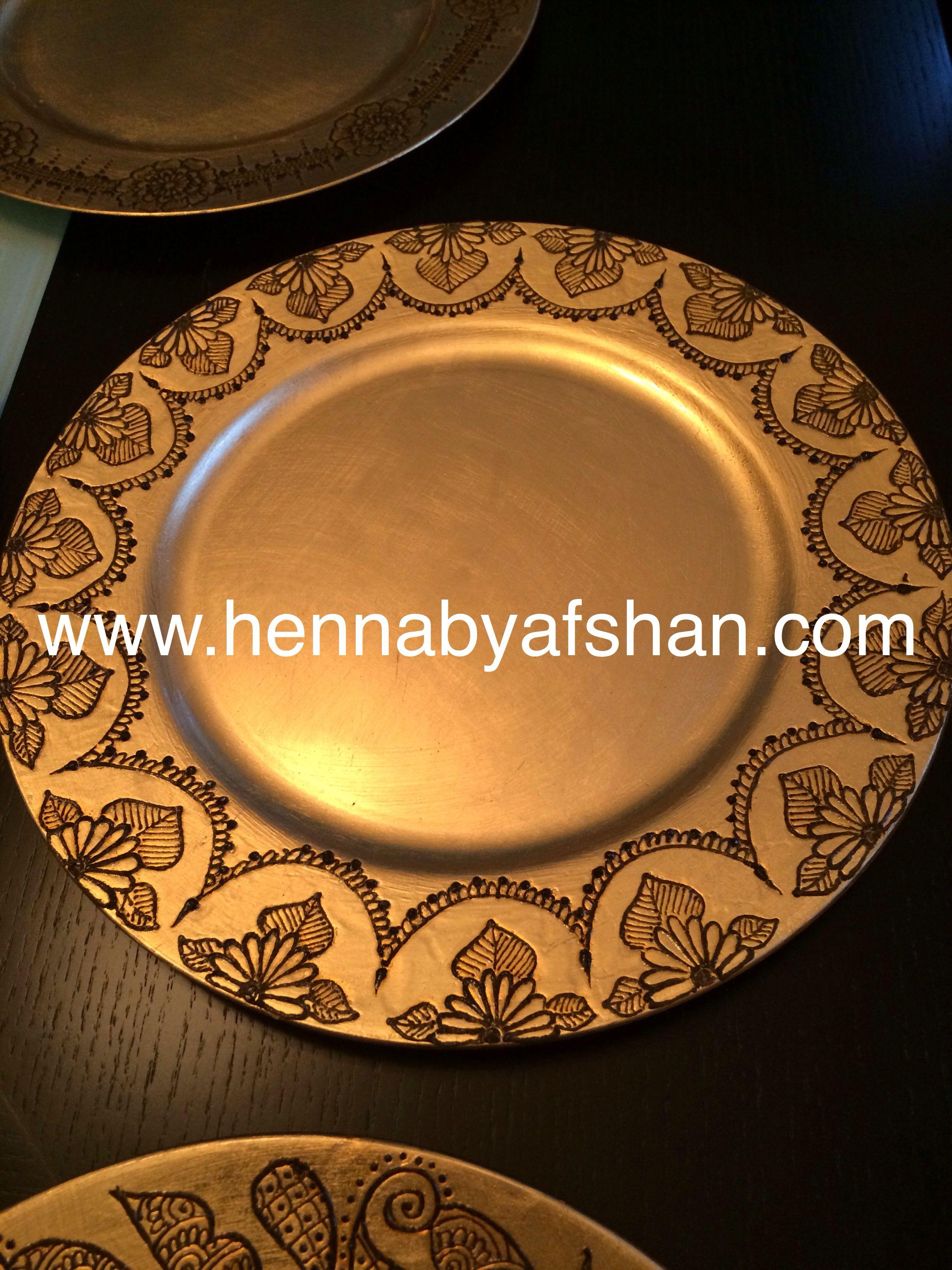 Mehndi Party Trays : Henna tray hennabyafshan pinterest hennas
