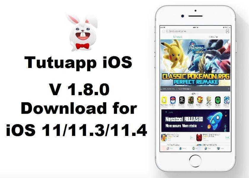 Tutuapp iOS latest version 1 8 0 free downloads for iOS 11/ iOS 11 3