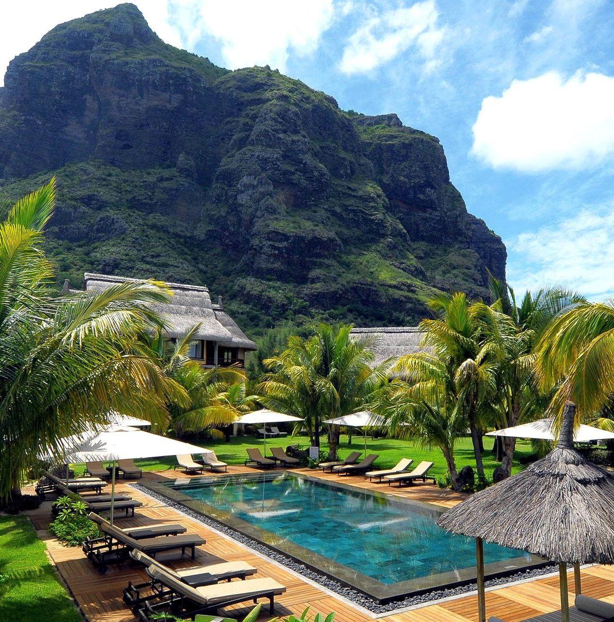Dinarobin hotel mauritius amazing pools isla mauricio viajes y islas - Piscinas 7 islas ...