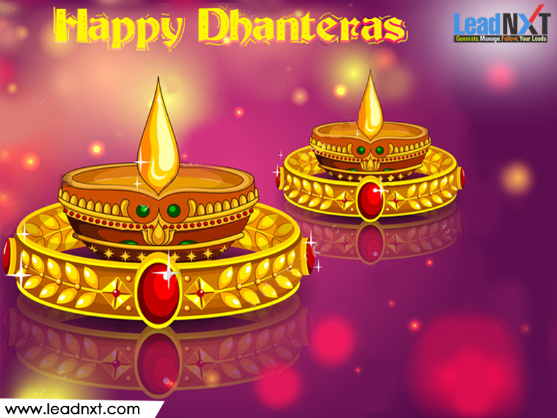 Wishing you all a very Happy #Dhanteras !! #LeadNXT #HappyDhanteras www.leadnxt.com #happydhanteras
