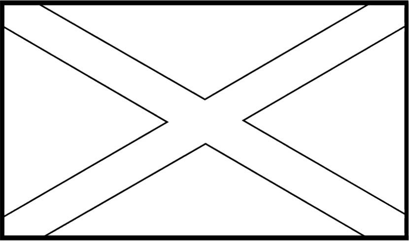 Flags Of Jamaica Coloring Page For Kids Flag Coloring Pages