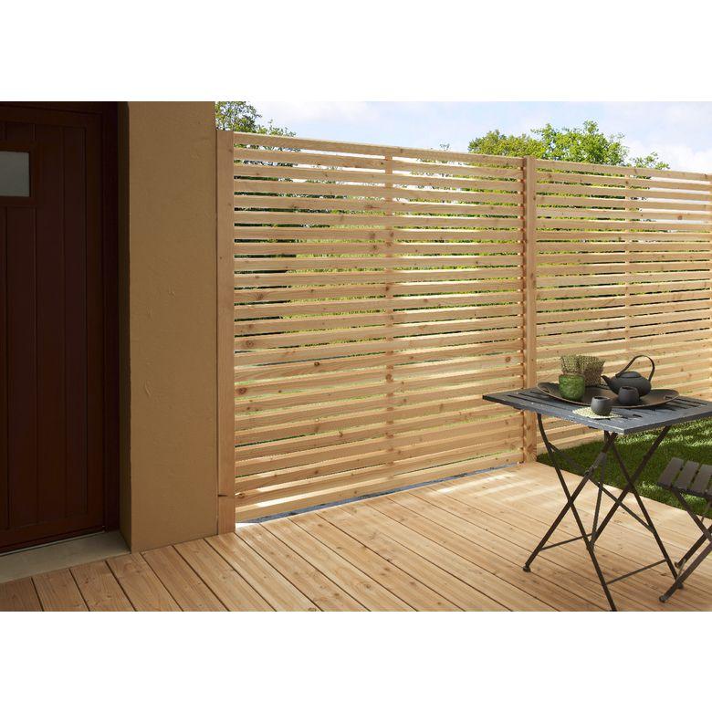 Bien Choisir Votre Sol De Terrasse Et Votre Cloture De Jardin Baies Vitrees Idees Jardin Cloture