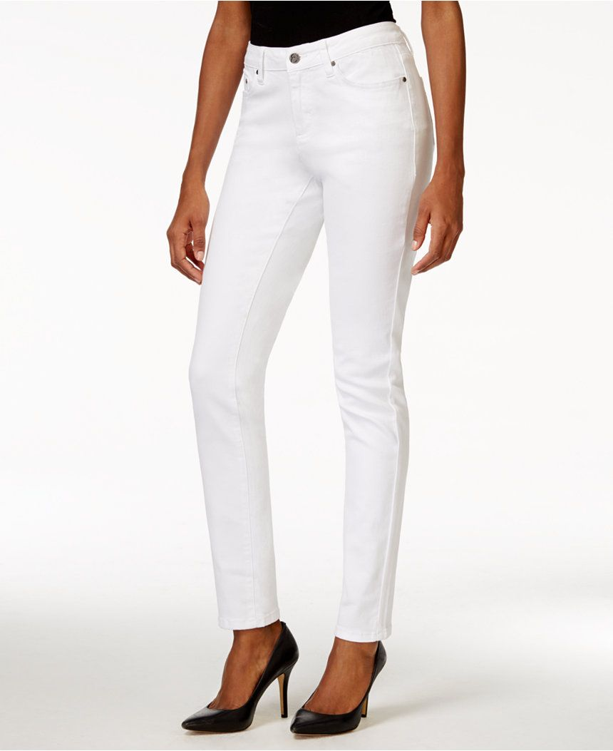 White skinny jeans that aren't see through