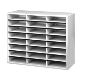 office mailbox organizer. Fellowes Literature Organizer 24 Compartments 23 716 H x 29 W 11 78 D  Dove Gray by Office Depot OfficeMax One Way To Set Up Classroom Mailboxes mailboxes