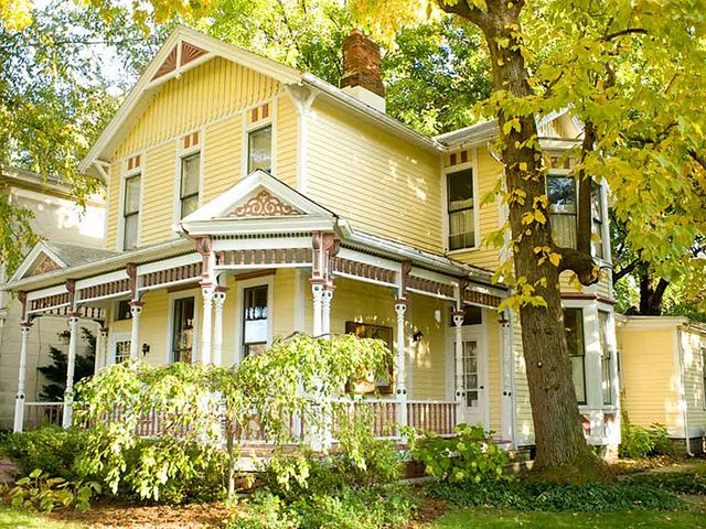 Victorian Yellow Victorian Homes Exterior Victorian House Colors Yellow House Exterior