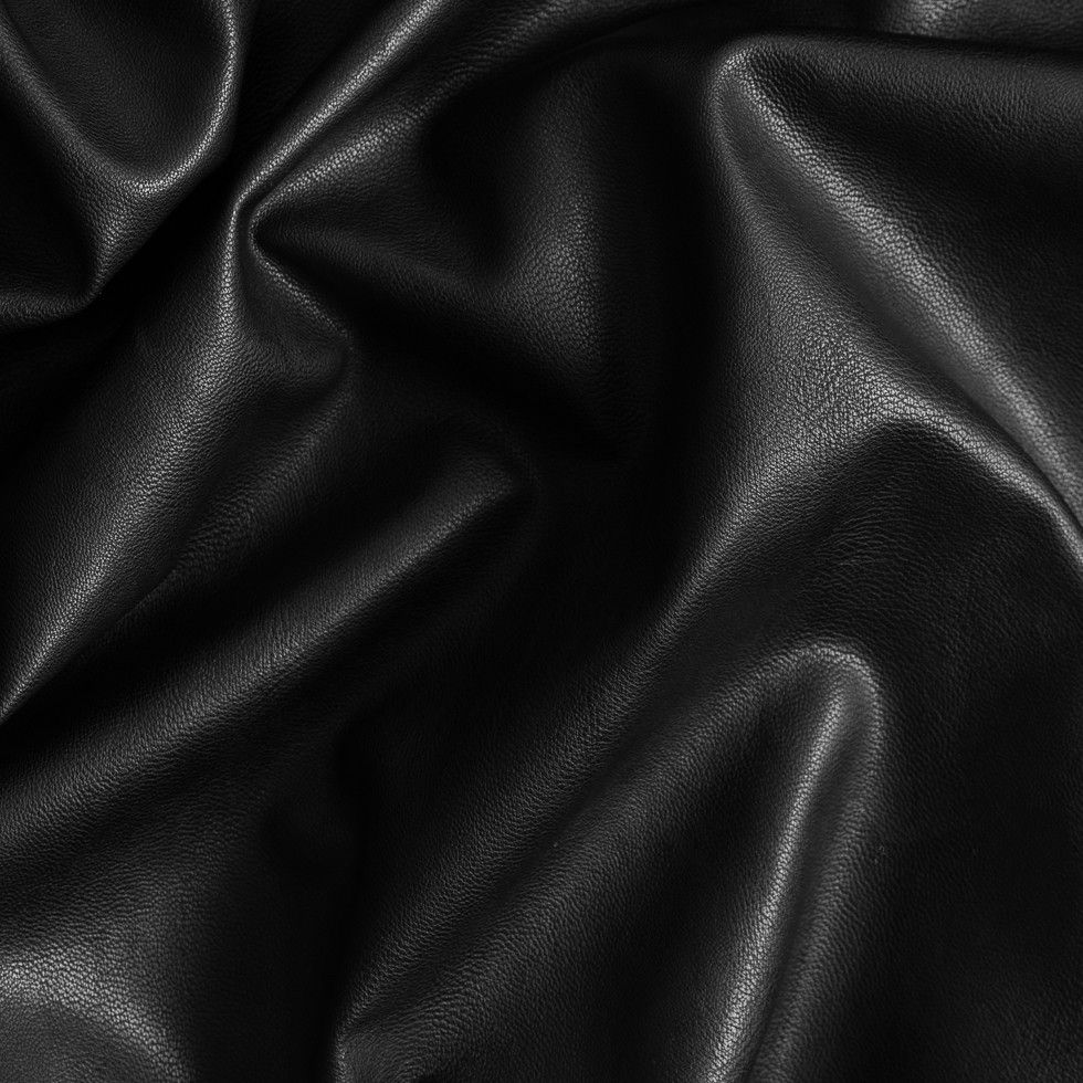 Black FashionWeight Faux Leather Faux leather, Mood fabrics