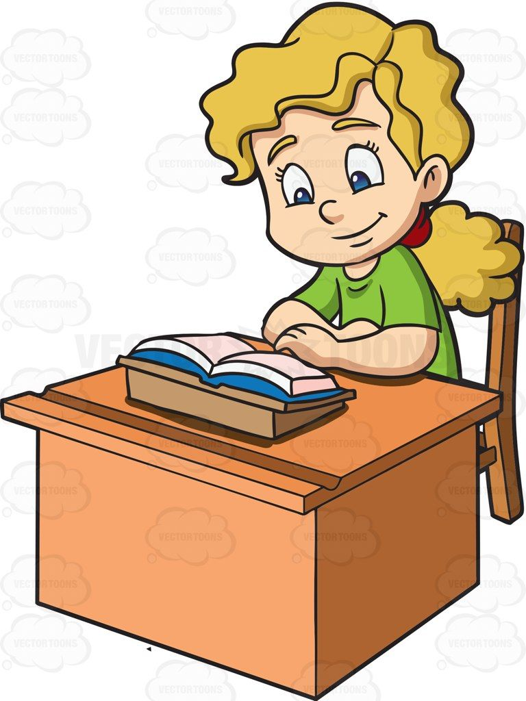 30+ Students working quietly clipart information