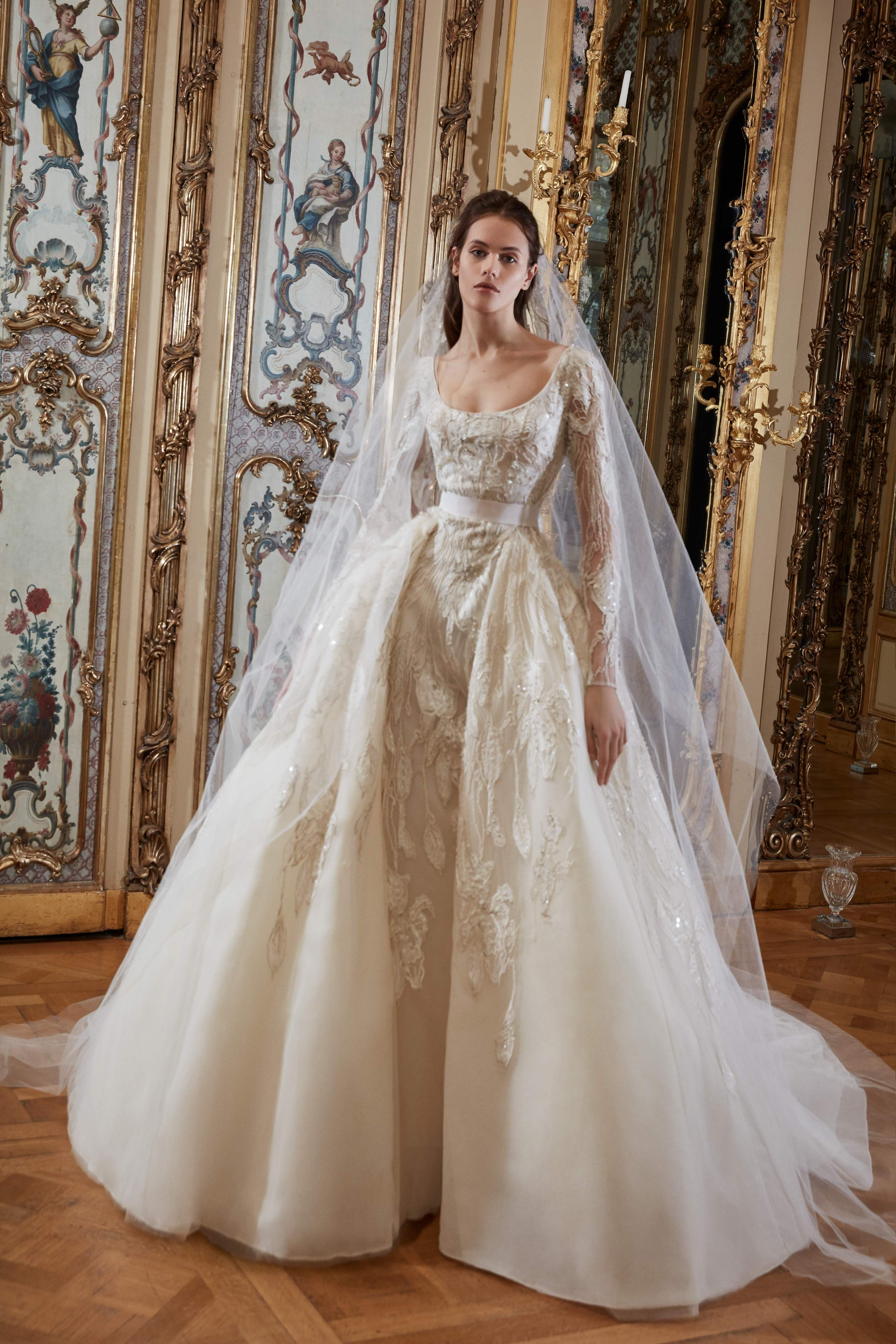 Elie Saab Ready To Wear Bridal Spring 2019 Elie Saab Bridal Elie Saab Wedding Dress Bridal Dresses