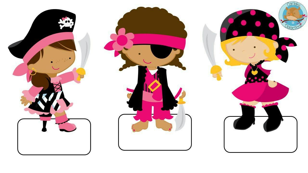 etiquetas cuadernos niñas piratas.   Piratas   Pinterest   Niños ...