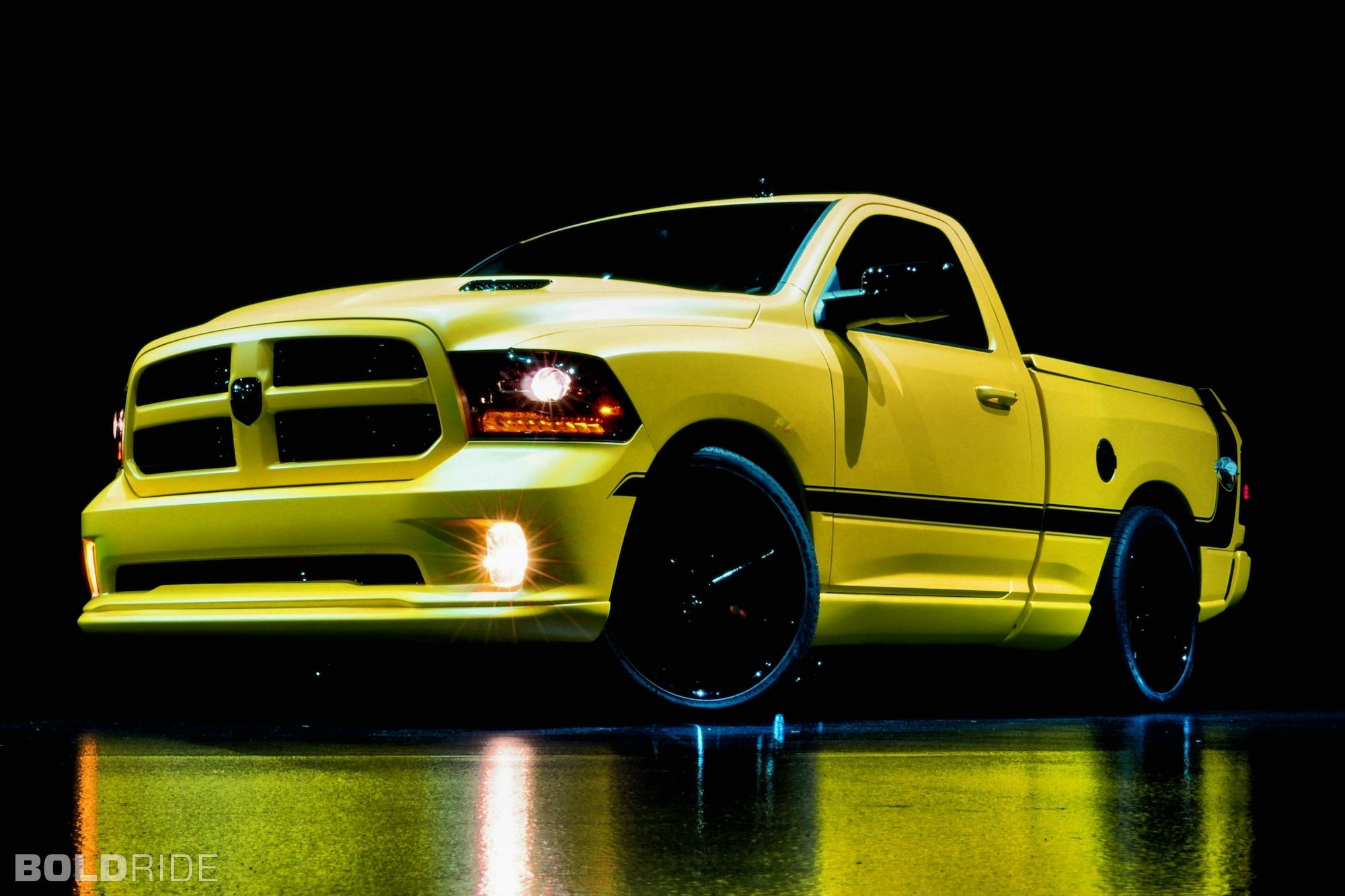Dodge ram 1500 rumble bee muscle concept pickup concept car were manufactured pinterest dodge ram 1500 dodge rams and dodge