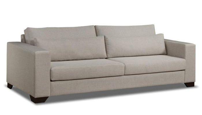 O Sofá Havana (ref:026) possui o assento e encosto soltos. O assento é revestido com manta de fibra de poliéster, o encosto é de fibra de silicone. As almofadas quebra-rim é feita de fibra de silicone. Pés de madeira. Sua estrutura é feita a partir de madeira reflorestada. Disponível em várias cores e tecidos, conforme nosso mostruário. http://www.moradamoveis.com/