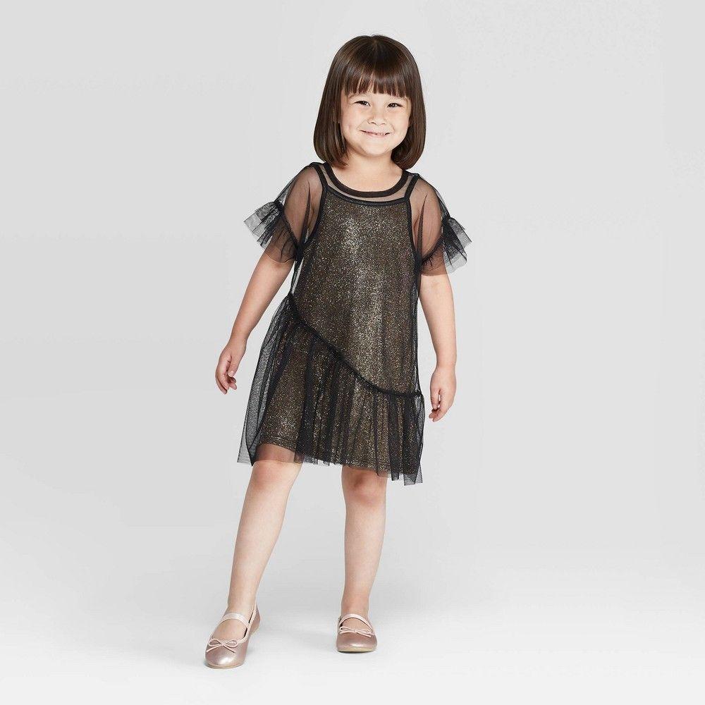 Toddler Girls Glitter Overlay Dress Art Class Black 2t Toddler Girl S Girls Lace Dress Crochet Dress Girl Overlay Dress [ 1000 x 1000 Pixel ]