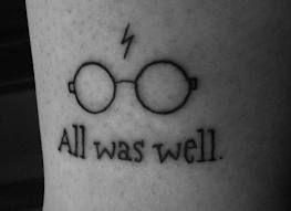 All Was Well Harry Potter Tattoo Harry Potter Tattoos Tattoos Fandom Tattoos