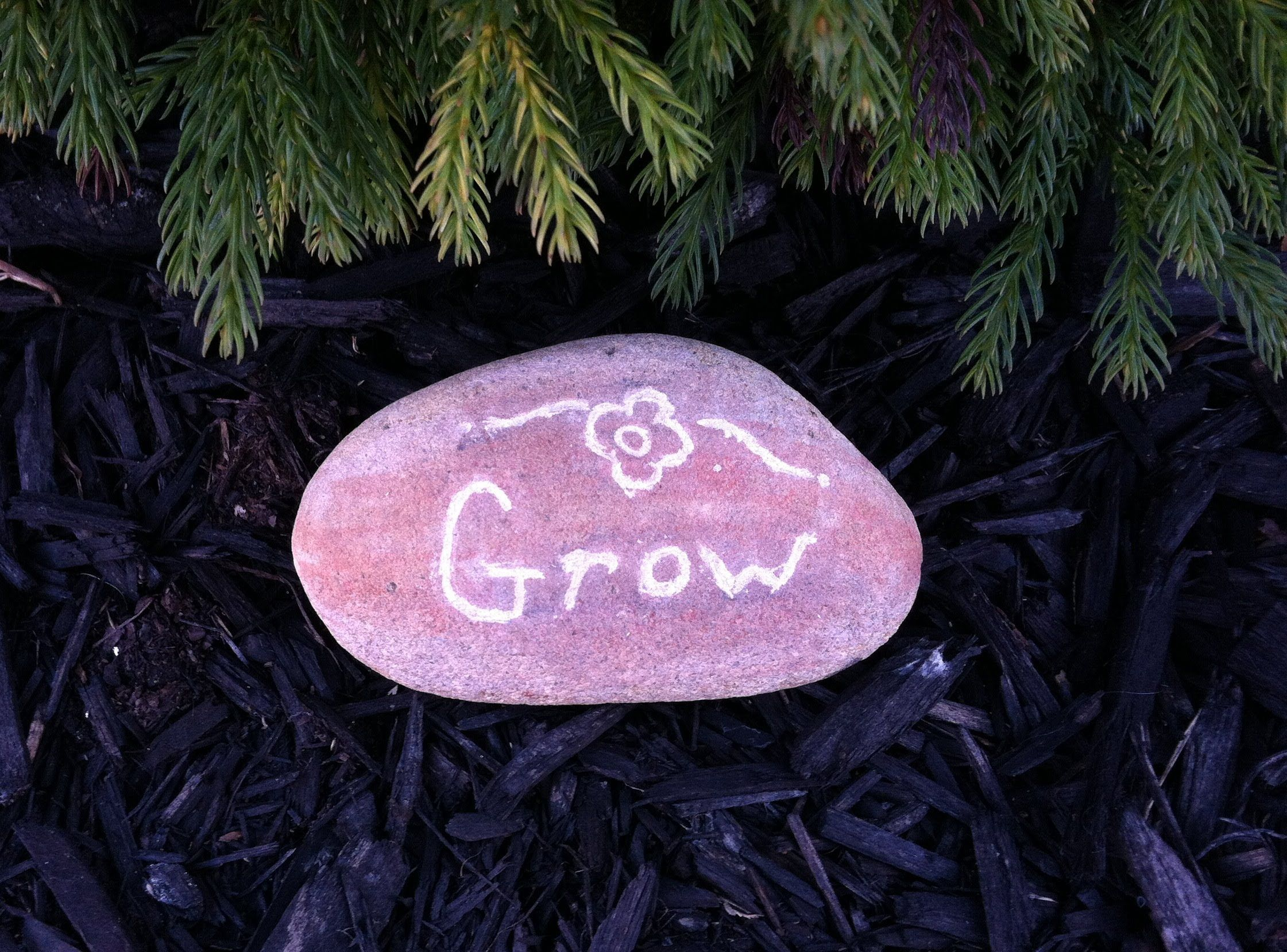 How to carve a rock for the garden or even for making