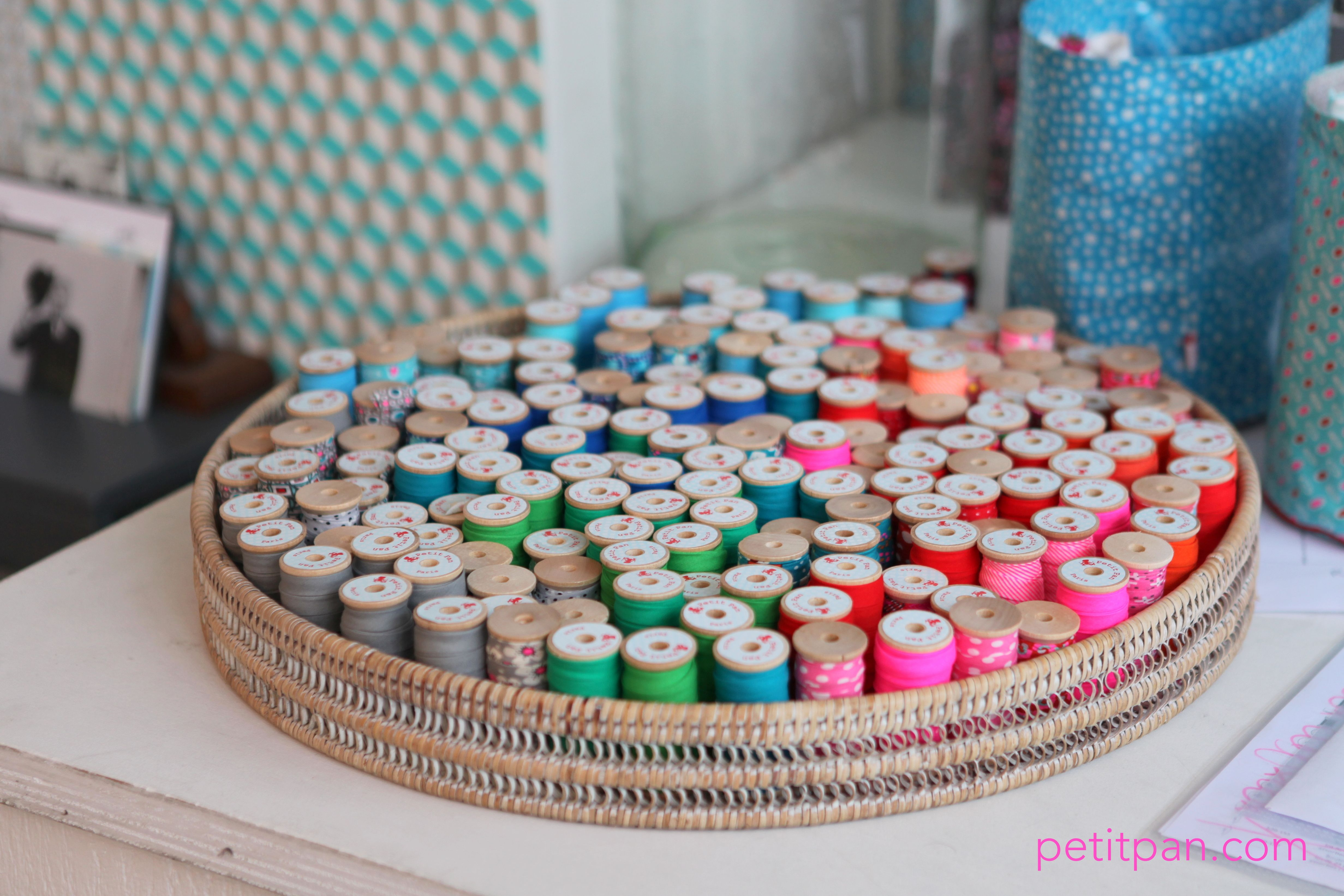 Toute la palette des couleurs Petit Pan.