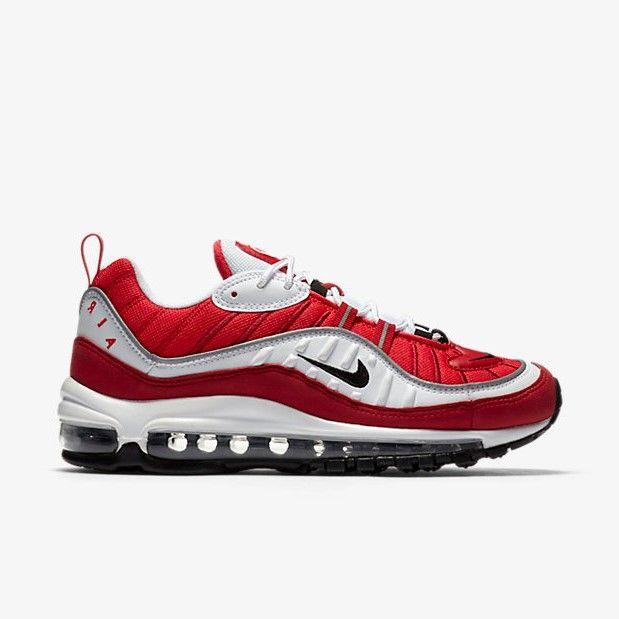 Nike Air Max 98 Gym Red - Grailify