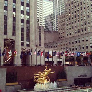 Rockefeller Center, NYC, 2011; Photo: Philip M. Tusa.