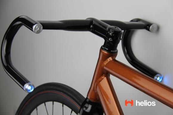 Helios Led Handlebars Bicycle Bike Handlebar