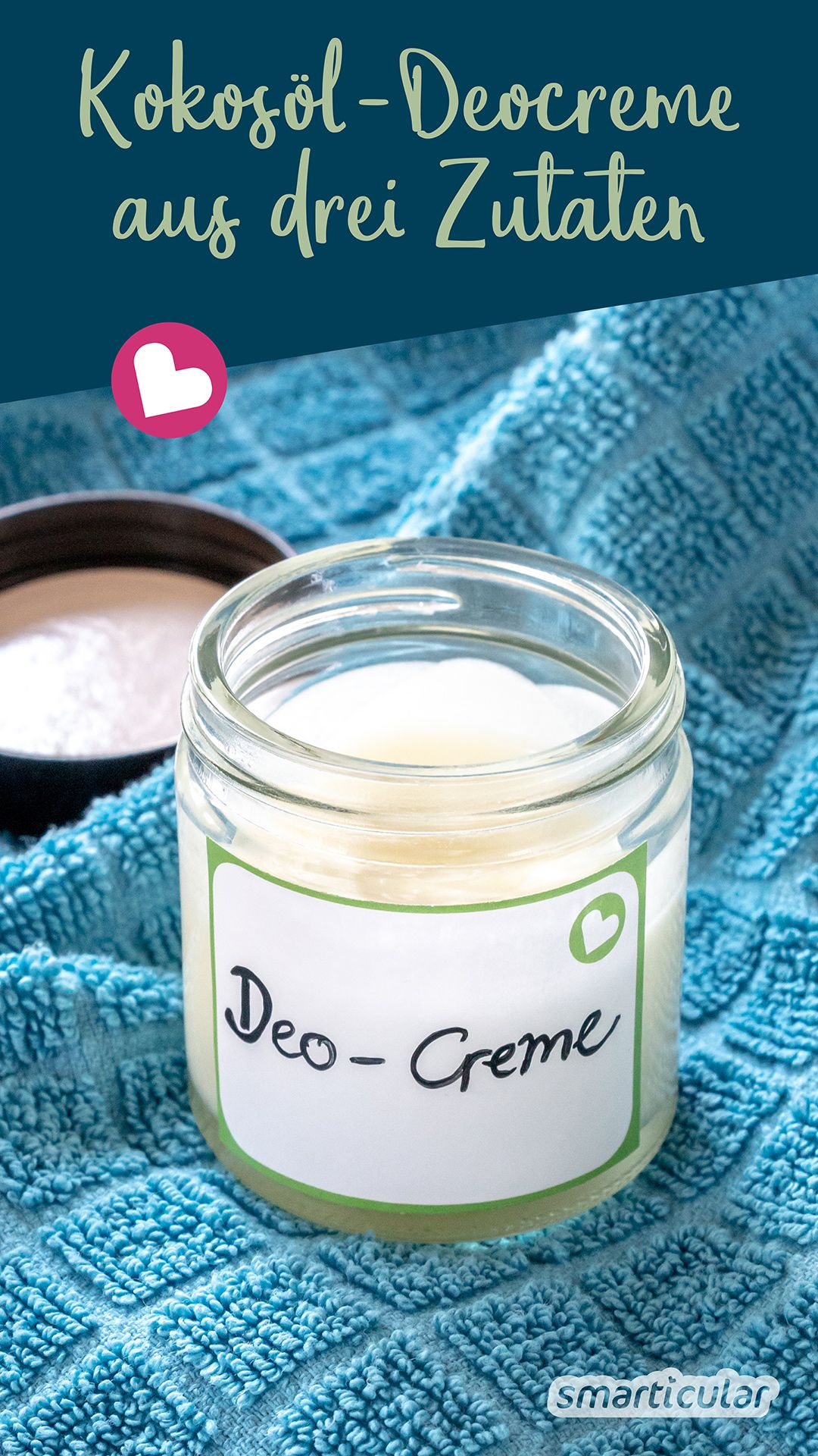 Photo of Coconut oil deodorant cream from three ingredients: fast, effective and healthy