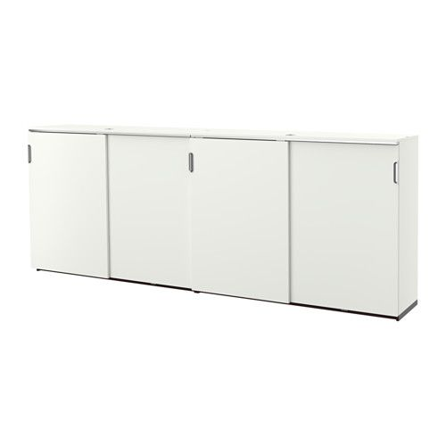 Ikea galant storage combination w sliding doors white for Mobile ante scorrevoli ikea