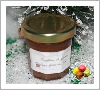 confiture pommes épices de noel